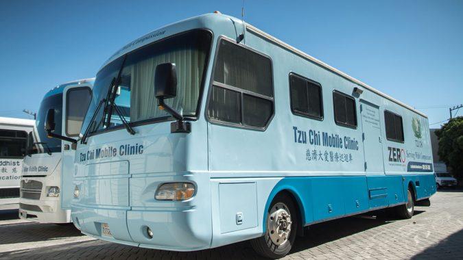 Mobile Clinics – Tzu Chi Medical